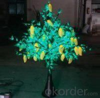 LED Fruit Tree String Christmas Festival Light Green Leaves+ Mango 29W CM-SLF-480Lm