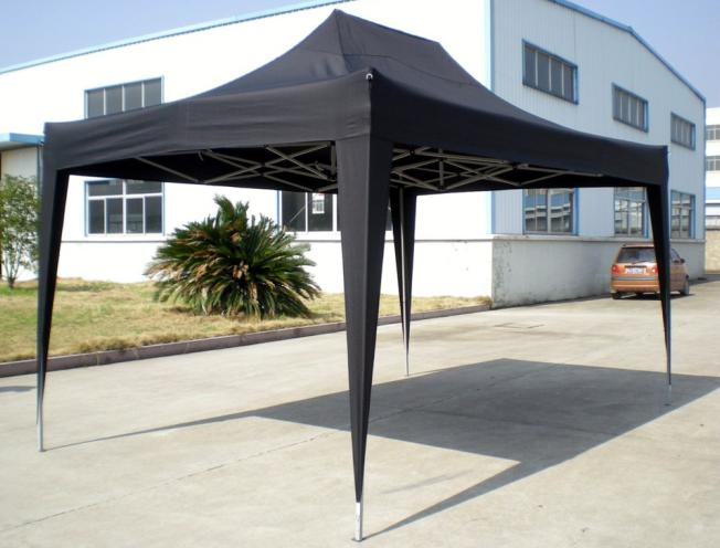 Hot Selling Outdoor Market Umbrella Full Iron Folding Tent 160g Polyester