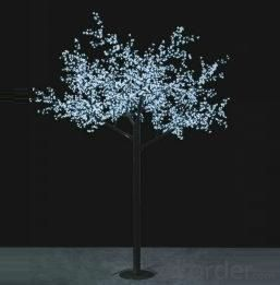 LED Tree Light Peach Flower String Christmas Festival Decorative Light Pink/Purple/RGB 208W CM-SLP-3456L3