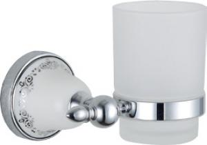 Luxury Bath Accessories Classical With Ceramic Tumbler Holder