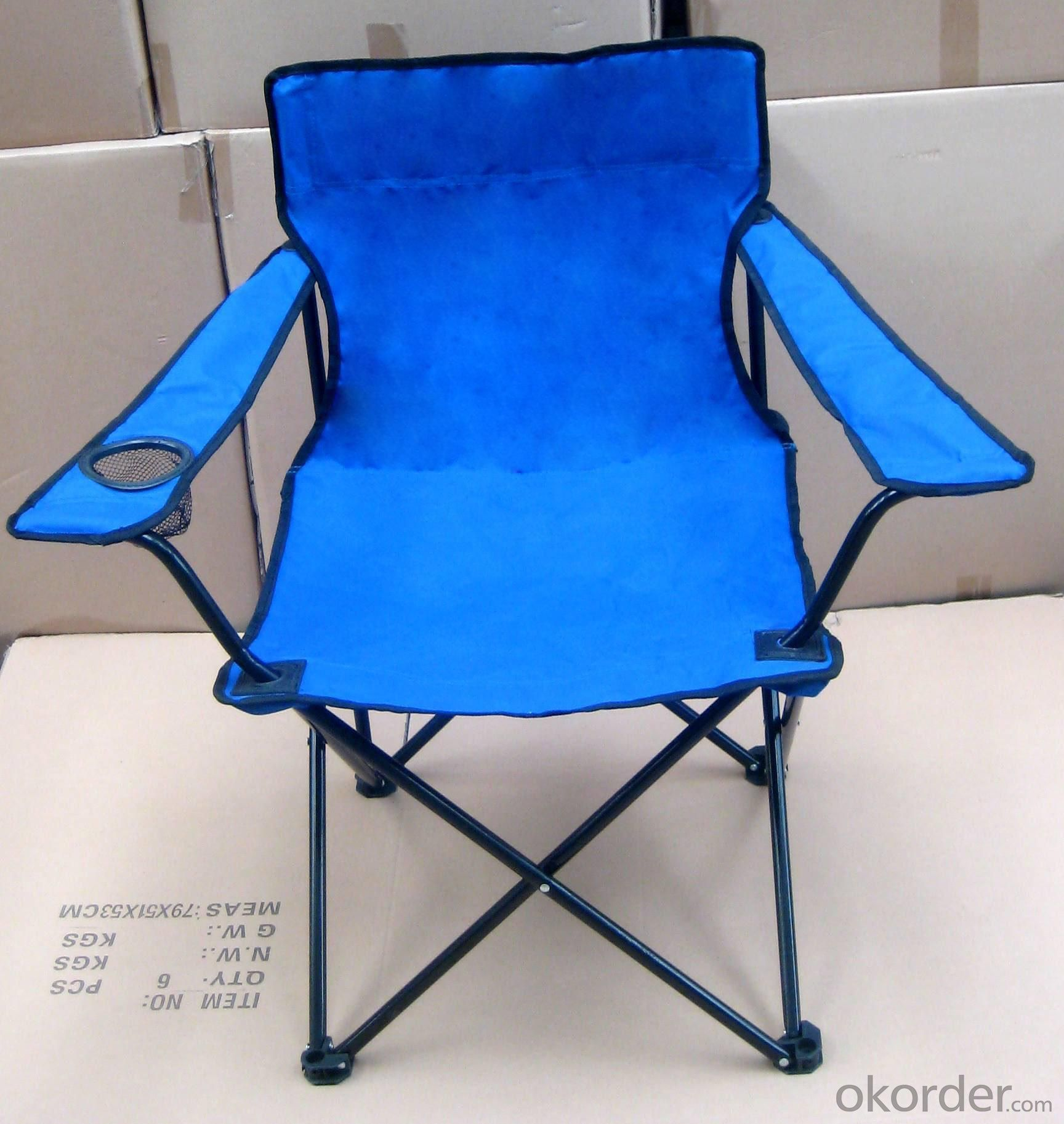 Hot Selling Beach Chair Simple Rio Pacific Blue Folding Armchair