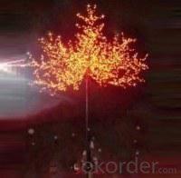 LED Tree Light Peach Flower String Christmas Festival Decorative Light Pink/Purple/RGB 312W CM-SLP-5184L3
