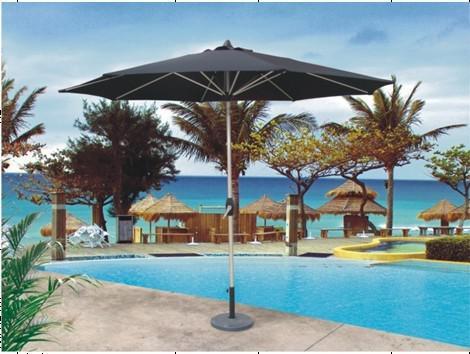 Hot Selling Outdoor Market Umbrella High Quality Black Handle Of Umbrella