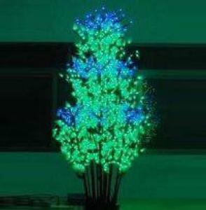 LED Clove Tree String Christmas Festival Light Green Leaves+ Pink/Purple Flowers 117W CM-SL-1944L