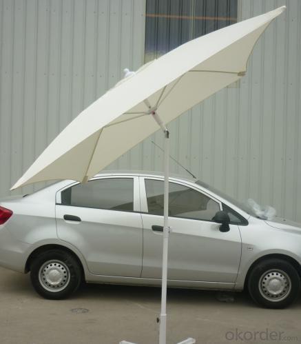 Hot Selling Outdoor Market Umbrella Aluminum Offset Umbrella 180g Polyester
