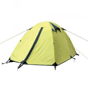 High Quality Outdoor Product 190T Polyester Light Color Camping Tent