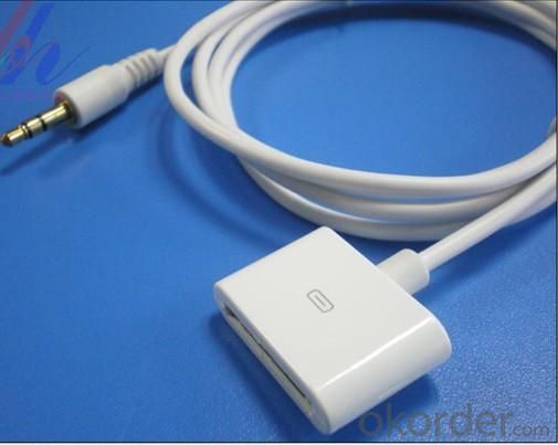 Female audio extended cable iPhone 4/4GS IPAD iPhone3G/3GS iPod touch iPod classic iPod nano