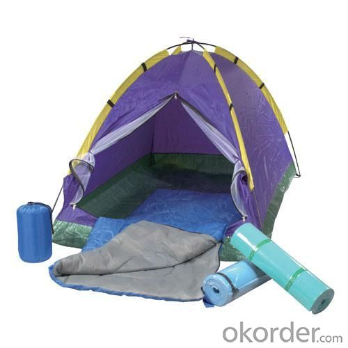 High Quality Outdoor Product 170T Polyester Modern Adult Camping Set