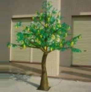 LED Fruit Tree String Christmas Festival Light Green Leaves+ Mango 98W CM-SLF-1632Lm