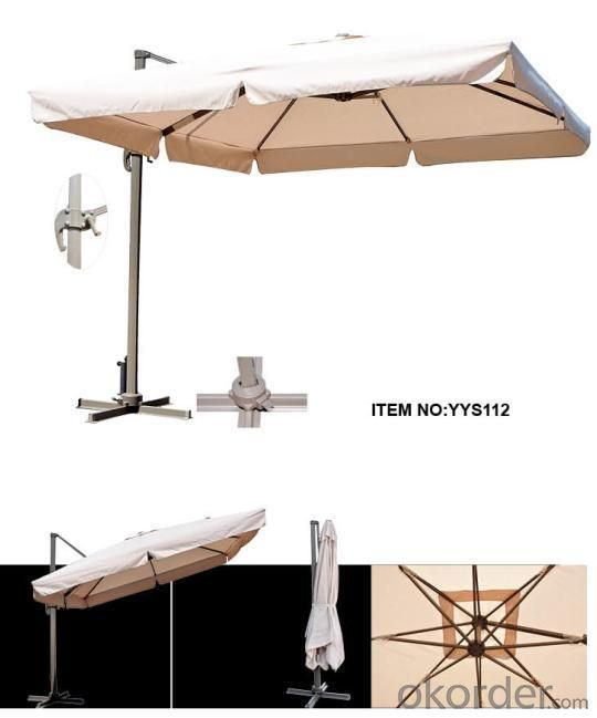 Hot Selling Outdoor Market Umbrella  360°Rotatable Patio Umbrellas