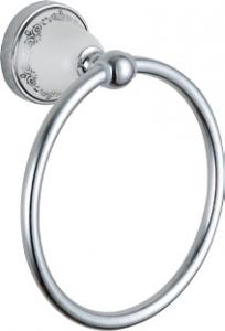 Luxury Bath Accessories Classical With Ceramic Towel Ring