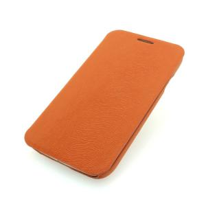 For Samsung Galaxy S4 (I9500) Wallet Pouch Luxury PU Leather Case Cover Orange