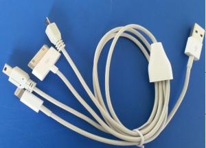 4 in 1 Chager Cable USB USB TO IPHONE4 /IPHONE5 / MICRO USB/MINI USB