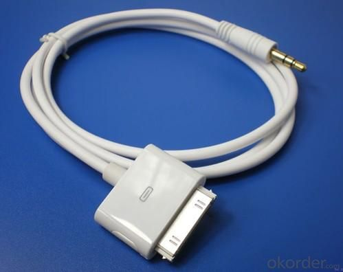 Car audio data cable iPhone 4/4GS IPAD2 iPhone3G/3GS iPod touch iPod classic iPod nano