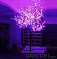 LED Tree Light Peach Flower String Christmas Festival Decorative Light Pink/Purple/RGB 173W CM-SLP-2880L3