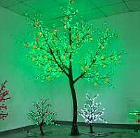 LED Fruit Tree String Christmas Festival Light Green Leaves+ Peach 173W CM-SLF-2800Lp