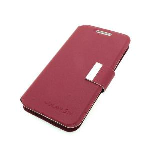 For Samsung Galaxy S4 (I9500) Wallet Pouch Luxury PU Leather Upstanding Case Cover Purple
