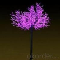 LED Tree Light Cherry String Christmas Festival Light Pink/Purple/RGB 369W CM-SL-6144L3