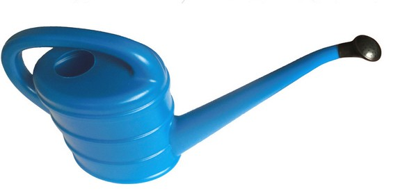 High Quality Outdoor Product PE/PP Blue Watering Can