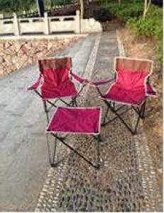 Hot Selling Beach Chair Simple Colorful Folding Armchair Set