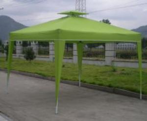 Hot Selling Outdoor Market Umbrella Green Full Iron Folding Tent