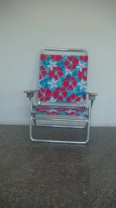 Hot Selling Outdoor Furniture Classical Flower Pattern Beach Chair