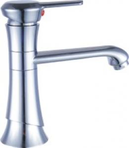 Contemporary Bathroom Faucet Bamboo Shape Basin Mixer