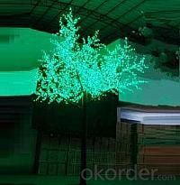 LED Tree Light Cherry String Christmas Festival Light Blue/Green/White 467W CM-SL-7776L2
