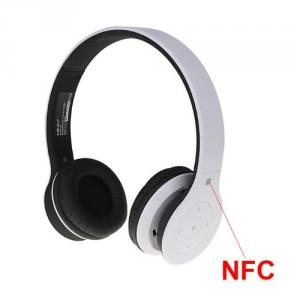 MINIX NT-1 High Quality Wireless Bluetooth Stereo Subwoofer Headset Headphone With NFC White