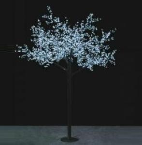 LED Tree Light Peach Flower String Christmas Festival Decorative Light Blue/Green/White 208W CM-SLP-3456L2