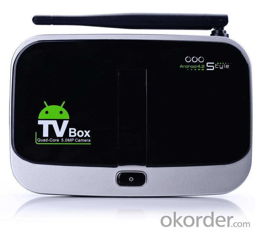 Quad Core CS918S Android 4.2 2GB RAM 16GB Flash 5.0MP Camera Smart TV Media Player