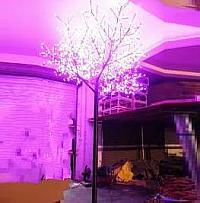 LED Tree Light Peach Flower String Christmas Festival Decorative LightRed/Yellow 260W CM-SLP-4320L1