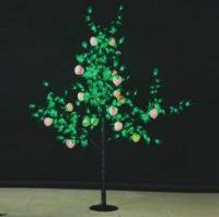 LED Fruit Tree String Christmas Festival Light Green Leaves+ Peach 29W CM-SLF-480Lp
