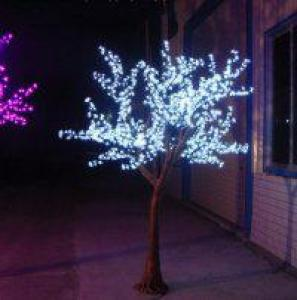 LED Artifical Cherry Tree Lights Flower String Christmas Festival Decorative Light Pink/Purple/RGB 93W CM-SLFZ-1536L3