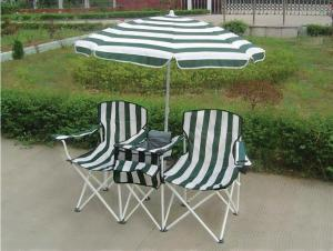 Hot Selling Outdoor Furniture Classical Classical Double Chair With Umbrella