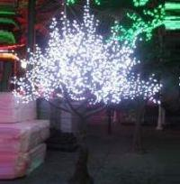 LED Artifical Cherry Tree Lights Flower String Christmas Festival Decorative Light Pink/Purple/RGB 117W CM-SLFZ-1944L3