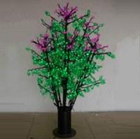 LED Clove Tree String Christmas Festival Light Green Leaves+ Pink/Purple Flowers 70W CM-SL-1152L