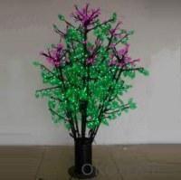 LED Clove Tree String Christmas Festival Light Green Leaves+ Pink/Purple Flowers 70W CM-SL-1152L
