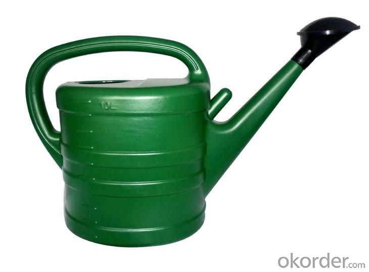 High Quality Outdoor Product PE/PP Green Simple Watering Can S