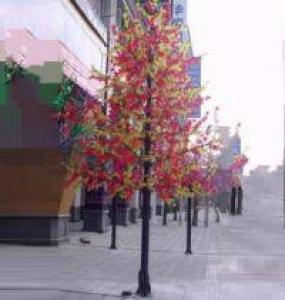 LED Artifical Maple Leaf Tree Lights Flower String Christmas Festival Decorative Light Pink/Purple/RGB 346W CM-SLGFZ-5760L3