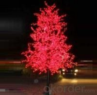 LED Artifical Maple Leaf Tree Lights Flower String Christmas Festival Decorative Light Red/Yellow 317W CM-SLGFZ-5272L1