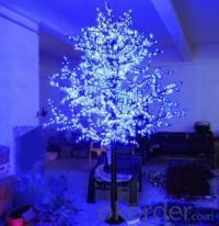 LED Artifical Maple Leaf Tree Lights Flower String Christmas Festival Decorative Light Blue/Green/White 148W CM-SLGFZ-2460L2