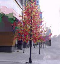 LED Artifical Maple Leaf Tree Lights Flower String Christmas Festival Decorative Light Blue/Green/White 346W CM-SLGFZ-5760L2