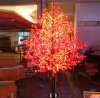LED Artifical Maple Leaf Tree Lights Flower String Christmas Festival Decorative Light Blue/Green/White 125W CM-SLGFZ-2076L2
