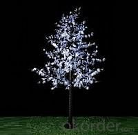 LED Artifical Maple Leaf Tree Lights Flower String Christmas Festival Decorative Light Blue/Green/White 90W CM-SLGFZ-1500L2