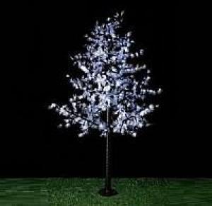 LED Artifical Maple Leaf Tree Lights Flower String Christmas Festival Decorative Light Blue/Green/White 90W CM-SLGFZ-1500L2