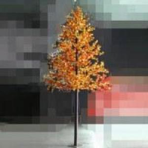LED Artifical Maple Leaf Tree Lights Flower String Christmas Festival Decorative Light Red/Yellow 248W CM-SLGFZ-4120L1