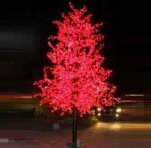 LED Artifical Maple Leaf Tree Lights Flower String Christmas Festival Decorative Light Pink/Purple/RGB 317W CM-SLGFZ-5272L3