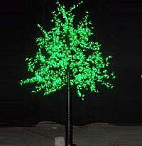 LED Artifical Maple Leaf Tree Lights Flower String Christmas Festival Decorative Light Blue/Green/White 78W CM-SLGFZ-1296L2