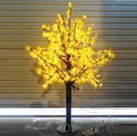 LED Artifical Maple Leaf Tree Lights Flower String Christmas Festival Decorative Light Blue/Green/White 39W CM-SLGFZ-636L2